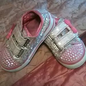 Skechers Twinkle toes size 7 toddler